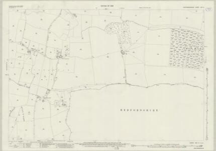 Huntingdonshire XXV.5 (includes: Eaton Socon; Great Staughton; Hail Weston) - 25 Inch Map