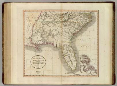 Carolinas, Georgia, Floridas, Bahamas.