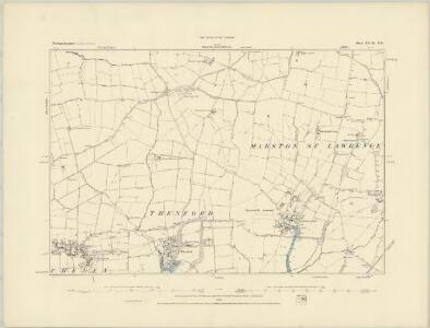 Northamptonshire LVIII.NW - OS Six-Inch Map