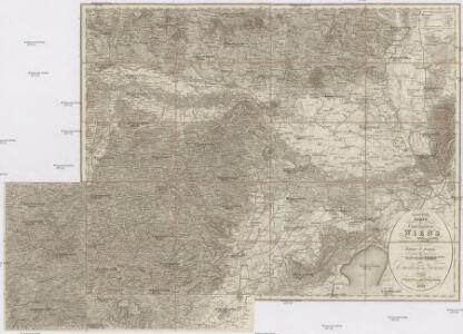 Topographische Karte der Umgebungen Wien's