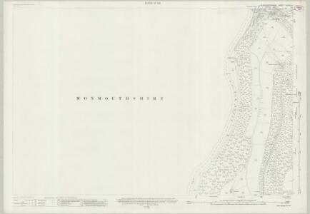 Gloucestershire XXXVIII.6 (includes: Newland; Trelech United) - 25 Inch Map