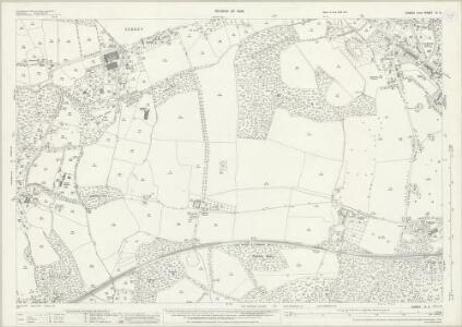 Sussex IV.8 (includes: East Grinstead; Godstone; Worth) - 25 Inch Map