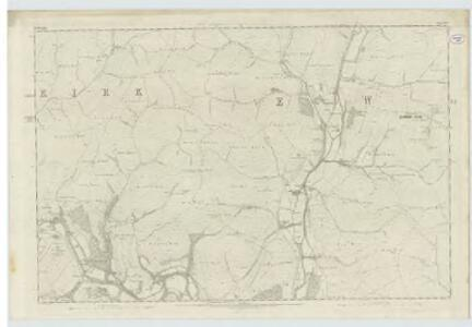 Dumfriesshire, Sheet XXXVI - OS 6 Inch map