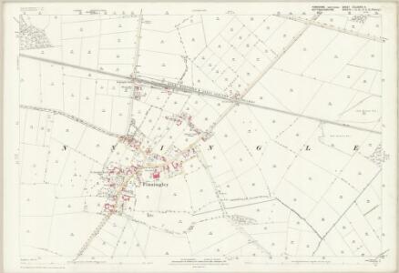 Yorkshire CCLXXXVI.9 (includes: Blaxton; Finningley) - 25 Inch Map