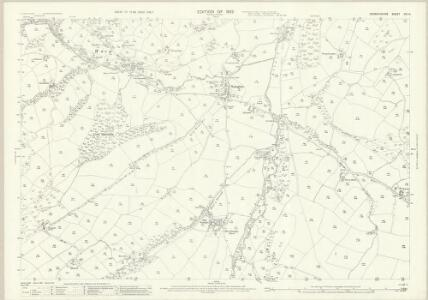 Denbighshire XIII.14 (includes: Bylchau; Llanrhaiadr Yn Cinmerch; Nantglyn) - 25 Inch Map