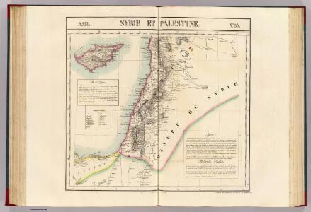 Syrie et Palestine. Asie 63.