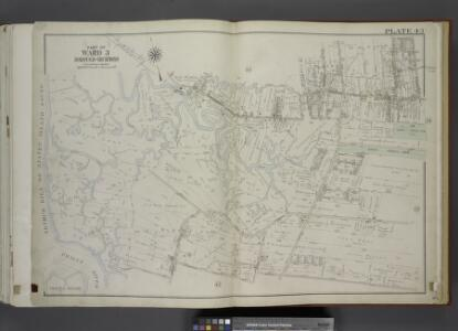 Part of Ward 3. [Map bound by Sedge Pond, Old Place   Creek, Western Ave, Washington Ave, John St, Northfield Ave (Franklin Ave),      South Ave, Harbor RD, Brabant St (Beech), Union Ave, Lisk Ave, Henry St, East    Broadway, Canal St, Gauldy Ave, Her