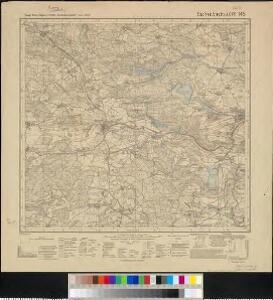 Meßtischblatt [6236] : Eschenbach i.d. OPf., 1933