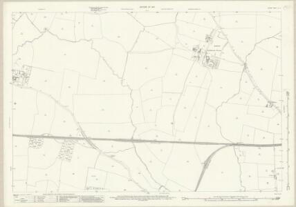 Durham LIV.4 (includes: Archdeanon Newton; Darlington; High Coniscliffe; Low Coniscliffe; Walworth) - 25 Inch Map