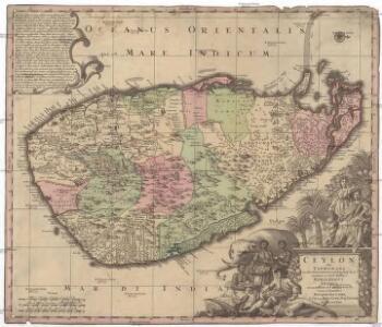 Ceylon olim Taprobana incolis Tenarisin et Lekawn dicta maxima et simul ditissima Maris Indici insula
