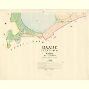 Raabe (Hrabowa) - m0877-1-004 - Kaiserpflichtexemplar der Landkarten des stabilen Katasters