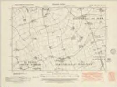 Suffolk XVII.NE - OS Six-Inch Map