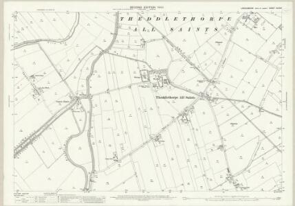 Lincolnshire XLIX.15 (includes: Gayton Le Marsh; Great Carlton; Saltfleetby All Saints; Saltfleetby St Peter; Theddlethorpe All Saints; Theddlethorpe St Helen) - 25 Inch Map