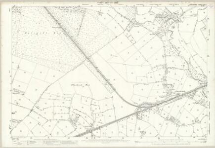 Lancashire CIX.8 (includes: Croft; Golborne; Irlam; Rixton With Glazebrook) - 25 Inch Map