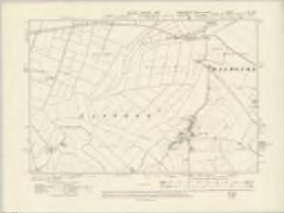 Lincolnshire IX_NE - OS Six-Inch Map