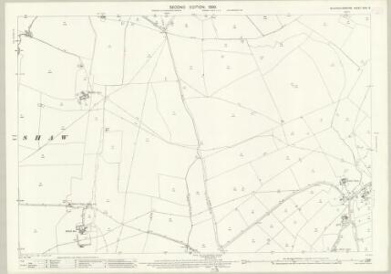 Buckinghamshire XXIII.5 (includes: Granborough; Hogshaw; North Marston; Quainton) - 25 Inch Map
