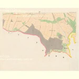 Gross Porzižan - c6027-1-004 - Kaiserpflichtexemplar der Landkarten des stabilen Katasters