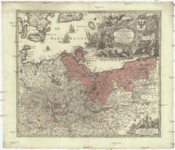 Marchia sive electoratus Brandenburgicus nec non ducatus Pomeraniae cum magna maris Balthici et provinciarum adnexarum parte