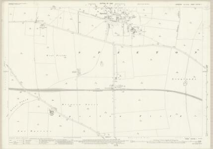 Yorkshire CXXVIII.1 (includes: Reighton) - 25 Inch Map