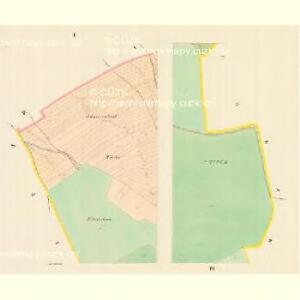 Dobitzko - m0598-1-001 - Kaiserpflichtexemplar der Landkarten des stabilen Katasters