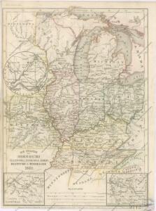 Die Staaten von Missouri, Illinois, Indiana, Ohio, Kentucky und Tennessee