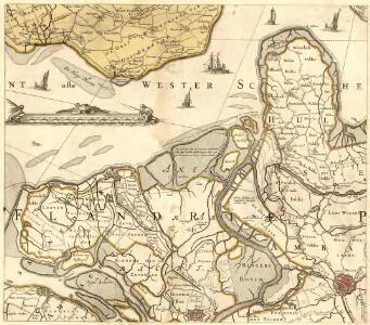 Zelandiae Comitatus Novissima Tabvla].