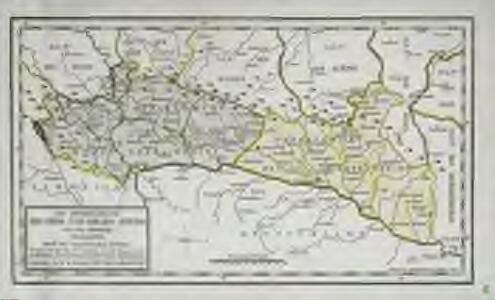 Die Departemente des Ober- und Nieder-Rheins oder das ehemalige Elsass, nebst den angrenzenden Ländern