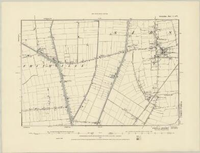 Lincolnshire XCVII.NE - OS Six-Inch Map