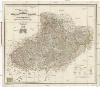 General-Karte der Markgrafschaft Mähren und des Herzogthum's Schlesien
