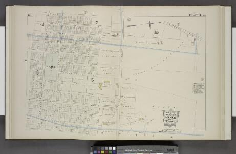 Parts of Wards 4, 5, 7. & 10. [Plate I.]