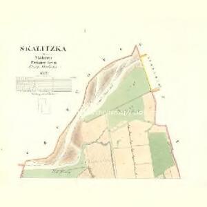 Skalitzka - m2726-1-001 - Kaiserpflichtexemplar der Landkarten des stabilen Katasters