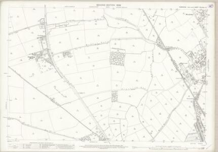 Yorkshire CCLXXVI.12 (includes: Adwick Le Street; Bentley With Arksey; Brodsworth; Spotbrough) - 25 Inch Map