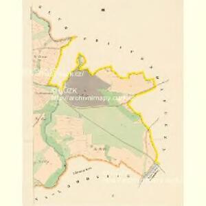 Kladrub - c3118-1-003 - Kaiserpflichtexemplar der Landkarten des stabilen Katasters