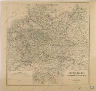 Deutschland ́s Eisenbahnen und Strassen - Netz