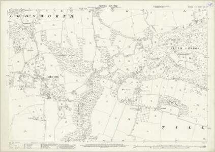 Sussex XXII.10 (includes: Lodsworth; Tillington) - 25 Inch Map