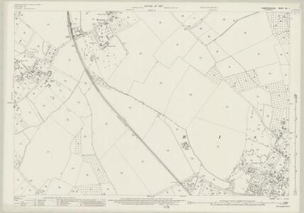 Cambridgeshire XL.1 (includes: Cottenham; Histon; Oakington; Westwick) - 25 Inch Map
