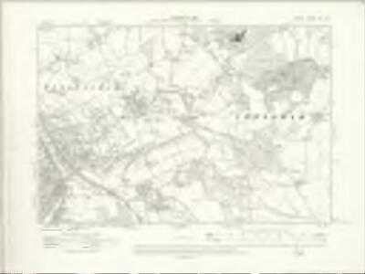 Surrey XX.SE - OS Six-Inch Map
