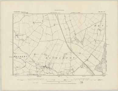 Northamptonshire LII.NW - OS Six-Inch Map