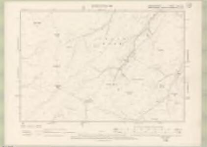 Roxburghshire Sheet XXX.SE - OS 6 Inch map