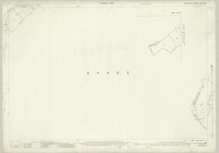 Suffolk LXXIX.7 & 6 (includes: Ballingdon; Bulmer; Great Henny; Little Cornard; Little Henny; Middleton) - 25 Inch Map