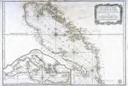 Carte hydrographique du golphe de Venise