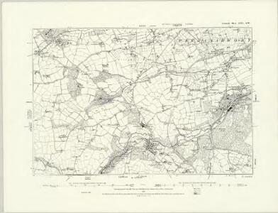Cornwall LXIII.NE - OS Six-Inch Map