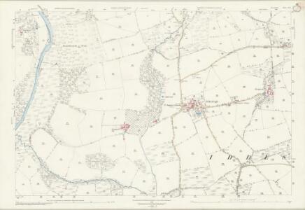 Devon LII.3 (includes: Dowland; Iddesleigh; Meeth) - 25 Inch Map