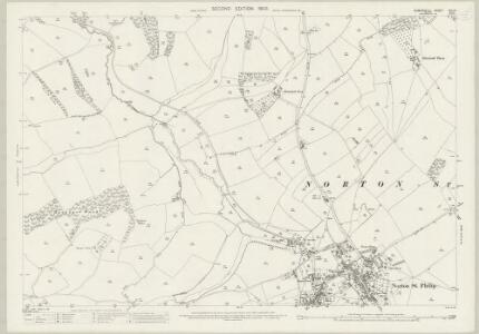 Somerset XXI.10 (includes: Hinton Charterhouse; Norton St Philip; Wellow) - 25 Inch Map