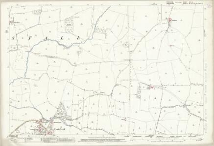Yorkshire XCV.14 (includes: Burrow With Burrow; Burton In Lonsdale; Cantsfield; Ireby; Tunstal) - 25 Inch Map