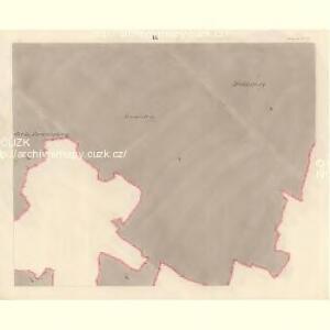 Dittersdorf (Getrzichow) - m0441-1-008 - Kaiserpflichtexemplar der Landkarten des stabilen Katasters