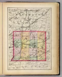 (Map of St. Joseph County, Michigan)