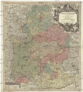 Circulus Bavariae in suas quasque ditiones tam cum finitimis, quam insertis regionibus accuratissime divisus
