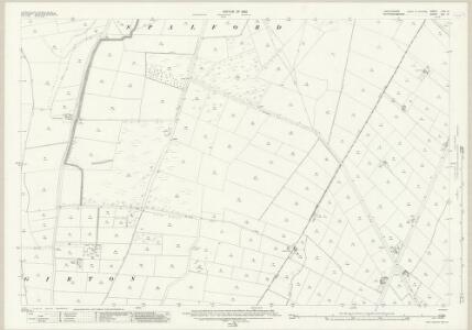 Lincolnshire LXIX.13 (includes: Girton; North Scarle; Spalford) - 25 Inch Map