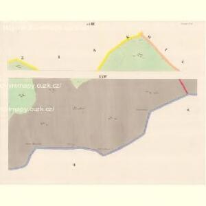 Lomna (Lomno) - m0508-1-023 - Kaiserpflichtexemplar der Landkarten des stabilen Katasters